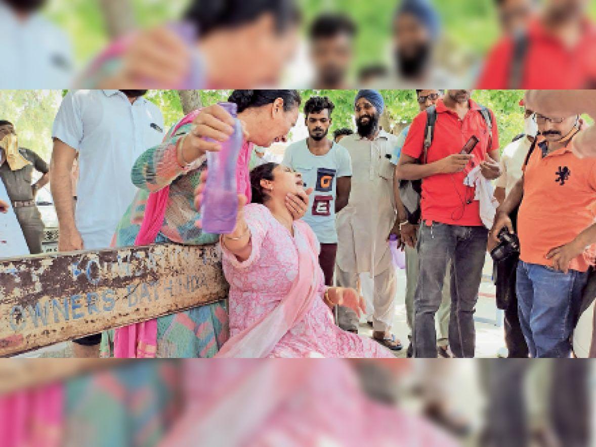 बदमाश लाली बराड़ ने जमीनी विवाद में चचेरे भाई की गोली मारकर की हत्या बठिंडा,Bathinda - Dainik Bhaskar