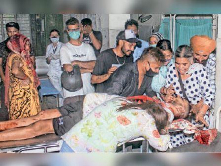 दोस्तों को दिखाने के लिए देसी कट्टा निकाला, गोली चलने से 26 साल के भगोड़ा करार हैप्पी संधू की मौत|जालंधर,Jalandhar - Dainik Bhaskar