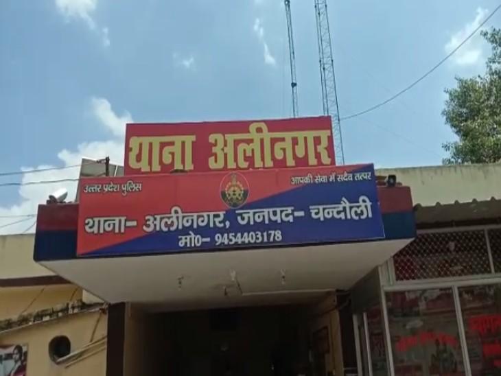 चंदौली में सरकारी वाहन से हो रही थी सप्लाई, चेकिंग में 35 पेटी शराब बरामद|वाराणसी,Varanasi - Dainik Bhaskar