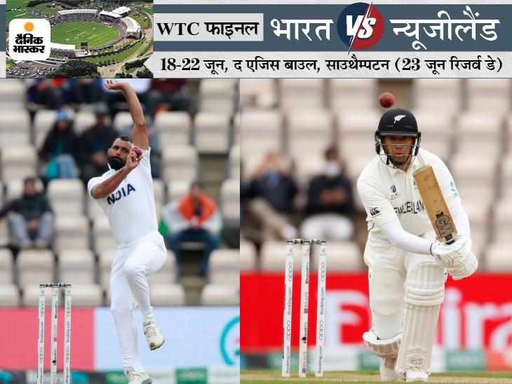 मोहम्मद शमी ने रॉस टेलर समेत न्यूजीलैंड के 4 बल्लेबाजों को शिकार बनाया।