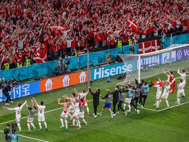 इस बार की परीकथा का नाम है डेनमार्क, रूस को 4-1 से रौंदकर दिया फैंस को जश्न मनाने का मौका|स्पोर्ट्स,Sports - Dainik Bhaskar