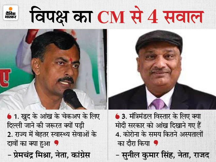कांग्रेस बोली-16 साल से CM हैं नीतीश; फिर भी आंख दिखाने दिल्ली जाना पड़ा, RJDने पूछा- हेल्थ सिस्टम का क्या हुआ बिहार,Bihar - Dainik Bhaskar
