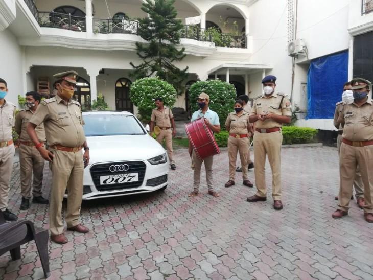 बाहुबली मुख्तार अंसारी की 007 कार को पुलिस ने किया जब्त, 31 लाख है कीमत|वाराणसी,Varanasi - Dainik Bhaskar