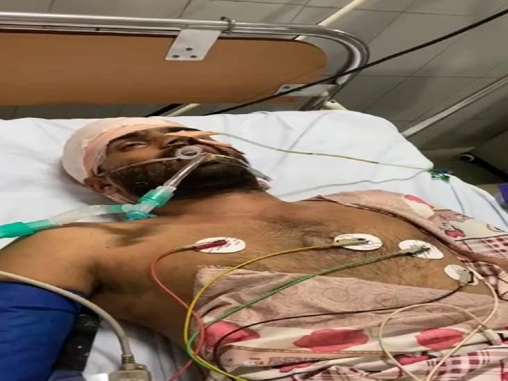 वाराणसी में 12 डिसमिल जमीन के विवाद में पट्टीदारों में चली लाठियां, घायल युवक की अस्पताल में मौत...गुस्साए ग्रामीणों पर पुलिस ने भांजी लाठी|वाराणसी,Varanasi - Dainik Bhaskar