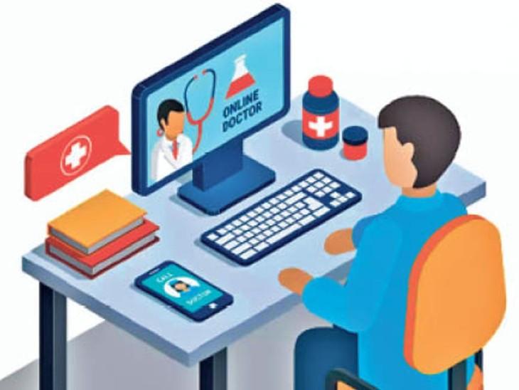 इंटरनेट ज्यादा यूज किया तो मोबाइल एडिक्ट हो सकता है बच्चा, कोरोना के बाद से 30 फीसदी बढे़ हैं ऐसे मामले|देश,National - Dainik Bhaskar