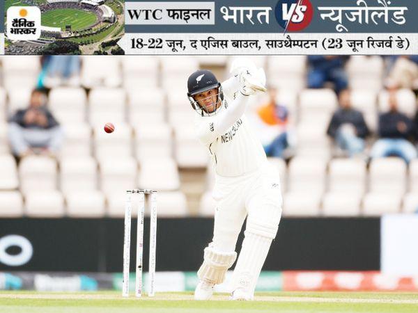 रॉस टेलर ने वर्ल्ड टेस्ट चैंपियनशिप फाइनल के पांचवें दिन 11 रन बनाए। उनका कैच शुभमन गिल ने मोहम्मद शमी के गेंद पर पकड़ा।