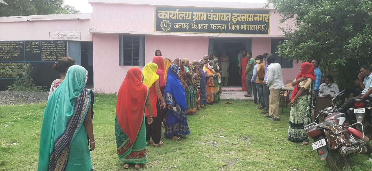 भोपाल में गुरुवार को 156 जगह पर कैंप, मौके पर ही ऑफलाइन रजिस्ट्रेशन की सुविधा, कोई भी आईडी साथ ले जाएं|भोपाल,Bhopal - Dainik Bhaskar