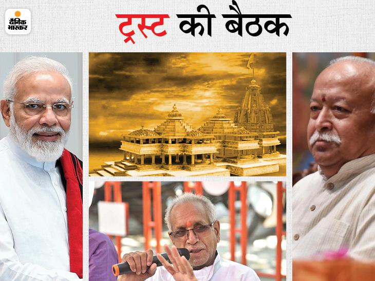 संघ ने जमीन घोटाले के आरोपों पर ट्रस्ट से किए सवाल, 26 जून को अयोध्या के विजन डॉक्यूमेंट पर PM की अफसरों के साथ मीटिंग|अयोध्या (फैजाबाद),Ayodhya (Faizabad) - Dainik Bhaskar
