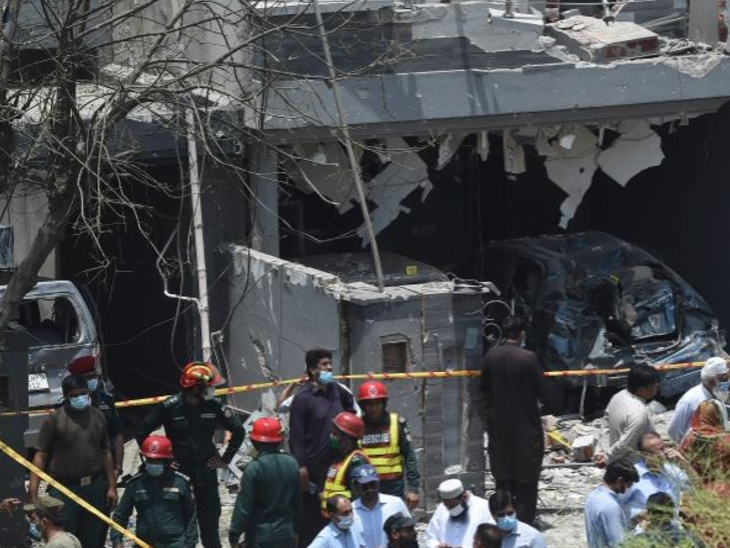 पाकिस्तान के होम मिनिस्टर बोले- मामला सुलझाने के बहुत करीब; देश के कई हिस्सों में सुरक्षा एजेंसियों ने छापे मारे विदेश,International - Dainik Bhaskar