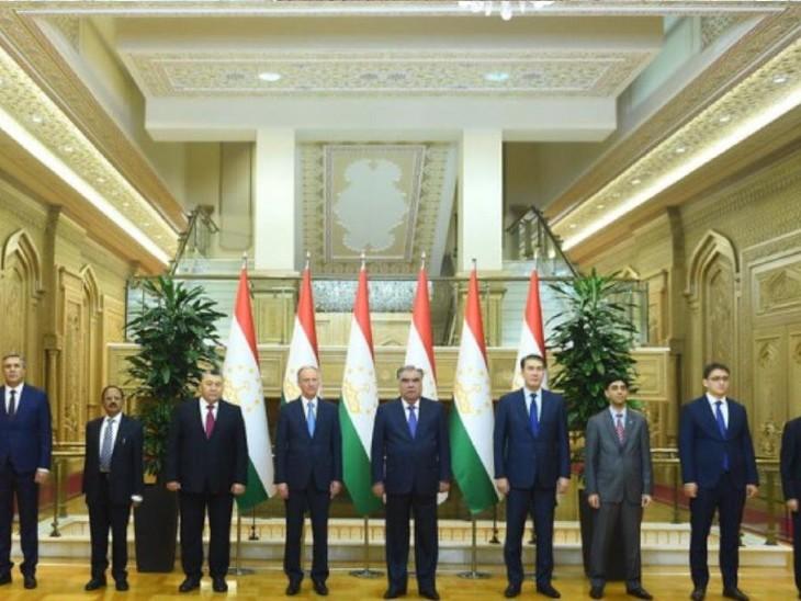 बैठक में भारत, अफगानिस्तान, पाकिस्तान, रूस, चीन, कजाकिस्तान, किर्गीस्तान, ताजिकिस्तान और उज्बेकिस्तान के NSA ने हिस्सा लिया।