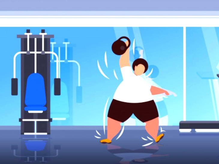 मोटापे से परेशान हैं तो शाम को एक्सरसाइज करें, ब्लड शुगर और कोलेस्ट्रॉल का लेवल कंट्रोल में रहेगा; मेटाबॉलिक हेल्थ में भी सुधार होगा लाइफ & साइंस,Happy Life - Dainik Bhaskar
