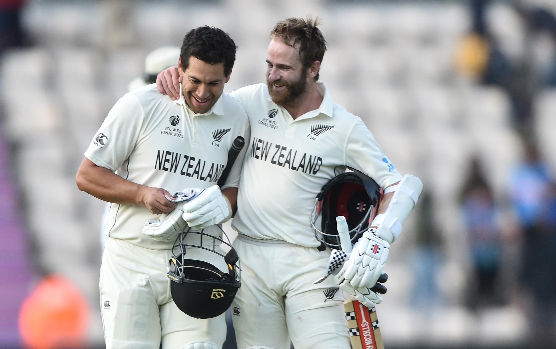विलियम्सन ने कप्तानी पारी खेलते हुए टेलर के साथ 96 रन की नाबाद पार्टनरशिप की।