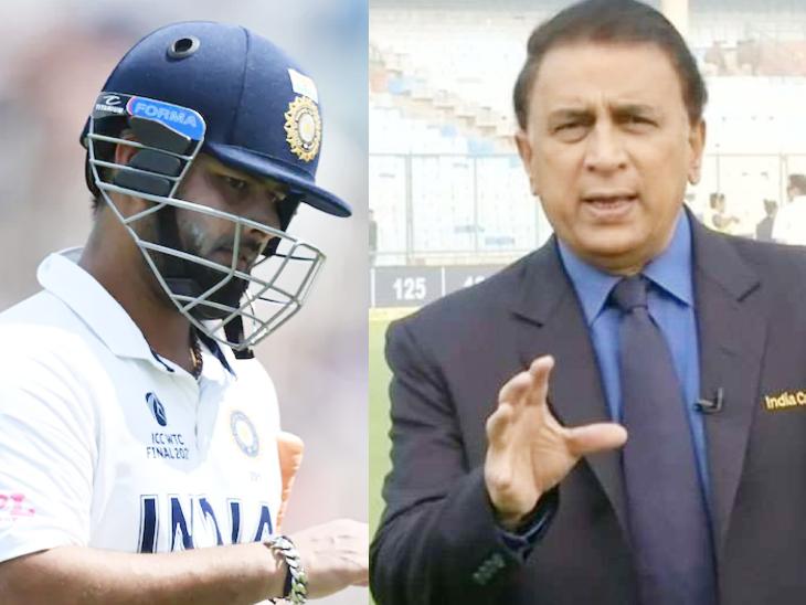 गावस्कर ने कहा कि पंत की बस एक समस्या है और वह है शॉट सिलेक्शन। इसके अलावा वह एक शानदार बल्लेबाज हैं। - Dainik Bhaskar