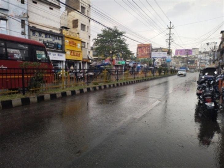रांची में आज पूरे दिन छाए रहेंगे बादल, हल्के से मध्यम दर्जे की बारिश के आसार, रांची में दर्ज हुआ राज्य का न्यूनतम तापमान रांची,Ranchi - Dainik Bhaskar