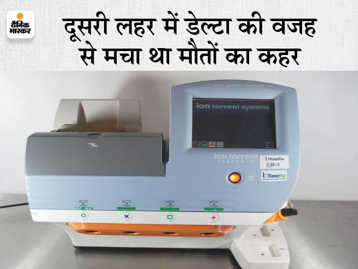 कोरोना के नए स्ट्रेन की जांच के लिए दिल्ली, पुणे नहीं भेजने पड़ेंगे सैंपल, अब तक 100 सैंपलों की जांच में 90% में 'डेल्टा' वायरस, 'डेल्टा+' का पहला केस आया सामने जयपुर,Jaipur - Dainik Bhaskar