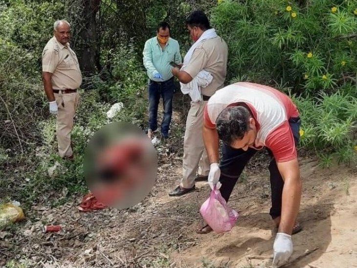 मायके से पति के साथ ससुराल जाने को निकली 5 महीने की गर्भवती का शव ड्रेन में मिला, गला रेतकर की गई हत्या|हरियाणा,Haryana - Dainik Bhaskar
