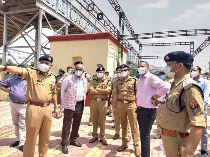 कानपुर देहात के झींझक स्टेशन पर 15 मिनट रुकेंगे राष्ट्रपति, परिजनों सहित करीबियों से करेंगे मुलाकात कानपुर,Kanpur - Dainik Bhaskar