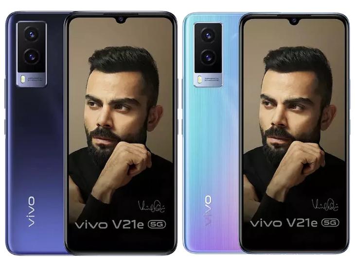 भारत में लॉन्च हुआ V21e 5G, सेल्फी के लिए 32MP कैमरा मिलेगा; सॉफ्टवेयर की मदद से 3GB रैम एक्स्ट्रा मिलेगी|टेक & ऑटो,Tech & Auto - Dainik Bhaskar