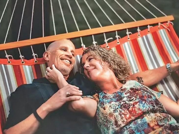 अल्जाइमर ने मिटा दी यादें, लेकिन टीवी पर शादी का सीन देख पीटर ने फिर पसंदीदा दोस्त लीसा से की शादी|विदेश,International - Dainik Bhaskar