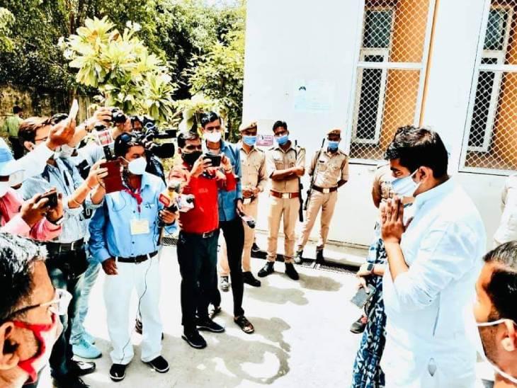 अखिलेश यादव के चचेरे भाई अभिषेक यादव जिला पंचायत अध्यक्ष , एक सांसद, दो विधायक होने के बावजूद बीजेपी का सरेंडर, प्रत्याशी तक नहीं उतारा|कानपुर,Kanpur - Dainik Bhaskar