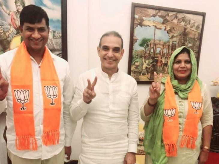 बागपत में नामांकन से पहले बड़ा उलटफेर; रालोद उम्मीदवार ममता किशोर BJP में शामिल, लखनऊ में सपा उम्मीदवार ने भरा पर्चा|लखनऊ,Lucknow - Dainik Bhaskar