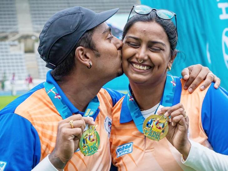 दीपिका ने एक दिन में 3 स्वर्ण पदक दिलाए, विमेंस टीम जीतकर भी ओलिंपिक क्वालिफाई नहीं कर सकी|स्पोर्ट्स,Sports - Dainik Bhaskar