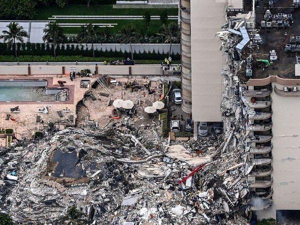 तीन साल पहले इंजीनियर ने चेताया था- लीकेज और इमारत में बड़ी दरारें हैं, रहवासी संघ ने नजरअंदाज किया; 5 की मौत, 159 लापता|विदेश,International - Dainik Bhaskar