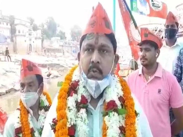 बिहार में एनडीए की सहयोगी VIP ने उत्तर प्रदेश में दी दस्तक, 2 जुलाई को पार्टी के मुखिया आएंगे लखनऊ, कार्यालय का करेंगे उद्घाटन|वाराणसी,Varanasi - Dainik Bhaskar