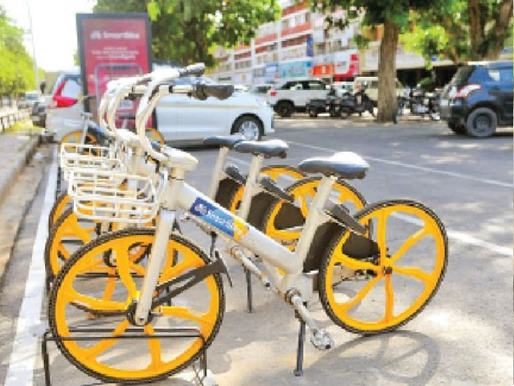 शहर के 130 डॉकिंग स्टेशन पर 1025 साइकिलें नहीं चला सकी कंपनी, रोज लगेगी 10 हजार की पेनल्टी चंडीगढ़,Chandigarh - Dainik Bhaskar