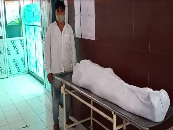 भतीजों को पीट रहे थे लोग, बचाने की कोशिश की तो लोगों ने गड्ढे में गिराकर मारा|मेरठ,Meerut - Dainik Bhaskar