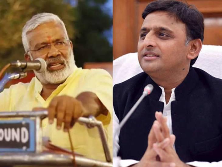 अखिलेश यादव बोले- BJP जनादेश का सम्मान नहीं करती, स्वतंत्र देव सिंह ने कहा- सपा अध्यक्ष अभी वर्क फ्रॉम होम में बिजी|लखनऊ,Lucknow - Dainik Bhaskar