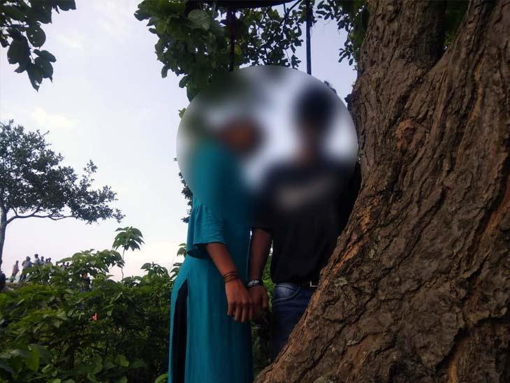 दुपट्टे से पेड़ पर बनाया गया था फंदा, घटनास्थल से मिली लड़के की स्कूटी और शादी का सामान|झारखंड,Jharkhand - Dainik Bhaskar