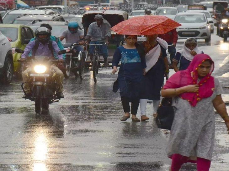 पिछले 24 घंटे राज्य में सबसे अधिक 35.4 मिमी. बारिश पलामू में हुई, आज देवघर, धनबाद, दुमका, गिरिडीह, गोड्डा में भारी बारिश के आसार रांची,Ranchi - Dainik Bhaskar