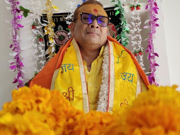 पूर्व DGP गुप्तेश्वर पांडेय बोले- नेताओं के जैसा बड़ा नहीं है मेरा कलेजा इसलिए राजनीति में फेल हो गया|पटना,Patna - Dainik Bhaskar