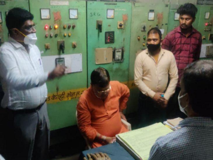 मंत्री को मेंटेनेंस में दिखी खामी; कार से उतरकर ग्रिड पर पहुंचे, अफसरों पर गुस्साए और 3 इंजीनियर निलंबित किए|इंदौर,Indore - Dainik Bhaskar