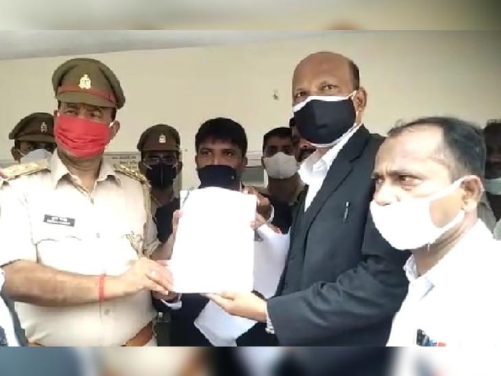 AAP सांसद संजय सिंह ने की ट्रस्ट के महासचिव चंपत राय समेत 9 के खिलाफ FIR की मांग की, सभी को बताया धोखेबाज अयोध्या,Ayodhya - Dainik Bhaskar
