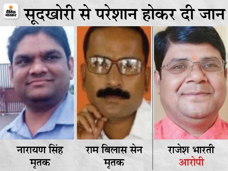दोनों युवकों ने एक ही व्यक्ति पर लगाया आरोप, सुसाइड नोट में लिखा- इसे तो फांसी होनी चाहिए राजगढ़ (भोपाल),Rajgarh (Bhopal) - Dainik Bhaskar