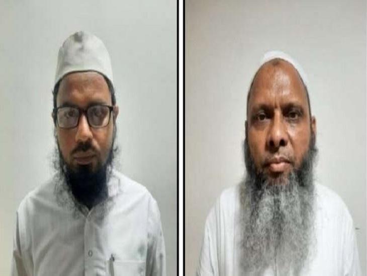 मुख्य आरोपी उमर गौतम और जहांगीर आलम से ATS का सवाल- पढ़े-लिखों का मन कैसे बदलते हो, अब धर्मांतरण के मामले लीक क्यों नहीं होते ?|लखनऊ,Lucknow - Dainik Bhaskar