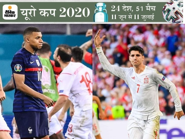 मोराता और एमबाप्पे दो खिलाड़ी ही नहीं दो कहानी हैं, एक दुनियाभर के ताने सहकर हीरो बना, दूसरा अपना इगो मैनेज नहीं कर पा रहा स्पोर्ट्स,Sports - Dainik Bhaskar