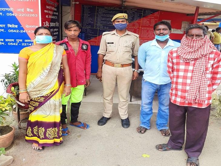 वाराणसी के दुर्गाकुंड पुलिस ने बच्चे को सीसीटीवी की मदद से खोज निकाला। - Dainik Bhaskar