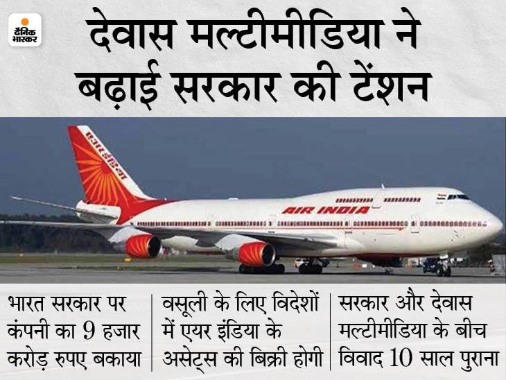 केयर्न एनर्जी के बाद देवास मल्टीमीडिया ने भी उठाई आवाज, विदेशों में एयर इंडिया की संपत्ति जब्त करने की मांग की बिजनेस,Business - Dainik Bhaskar