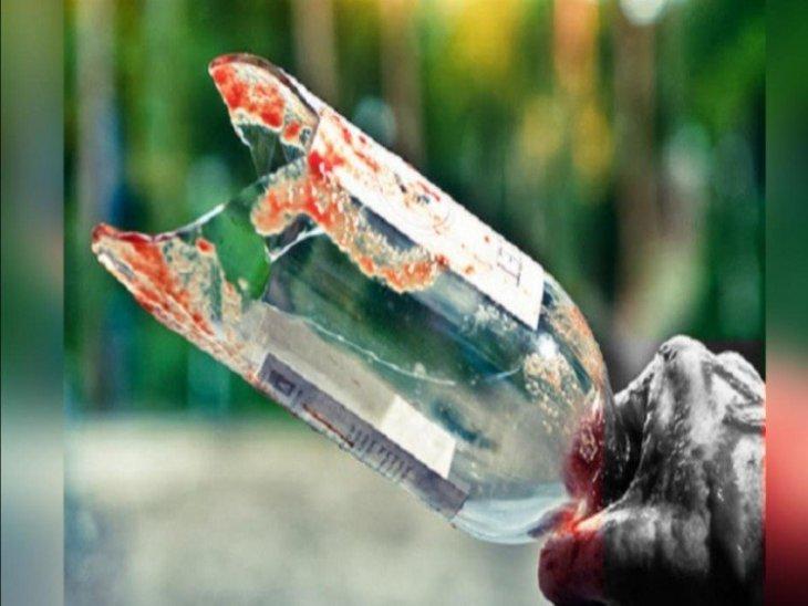 होटल में पार्टी में शराब पीने के बाद दोस्तों में कहासुनी हुई, युवक की बोतल से गला रेतकर हत्या|हरियाणा,Haryana - Dainik Bhaskar