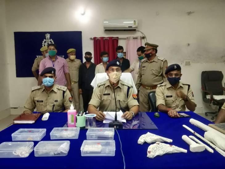 गिरोह कई जिलों में लूट व चोरी की घटनाओं को दे चुका है अंजाम, मुखबिर की सूचना पर पुलिस ने लिया एक्शन कानपुर,Kanpur - Dainik Bhaskar