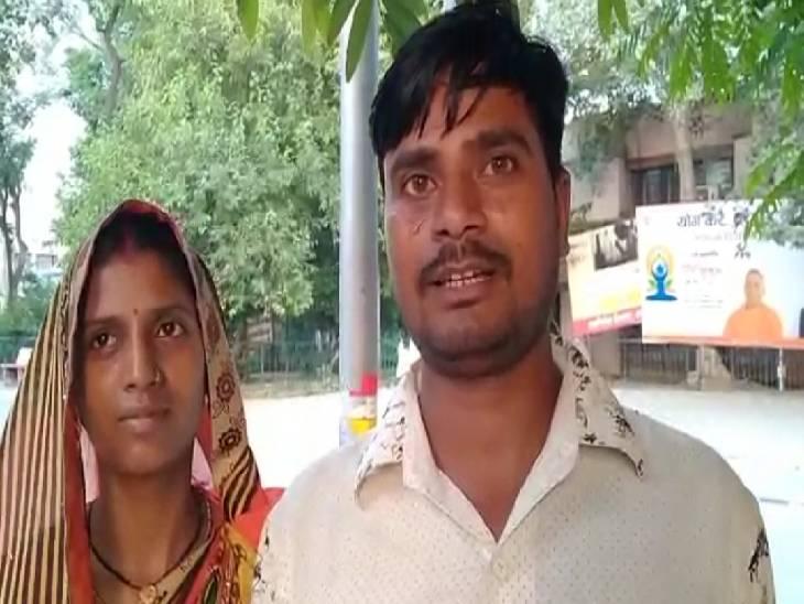 शादी कर अनम से बनी पूजा, परिजनों ने लड़के के परिवार पर किया हमला; लड़की ने पुलिस से मांगी सुरक्षा|लखनऊ,Lucknow - Dainik Bhaskar