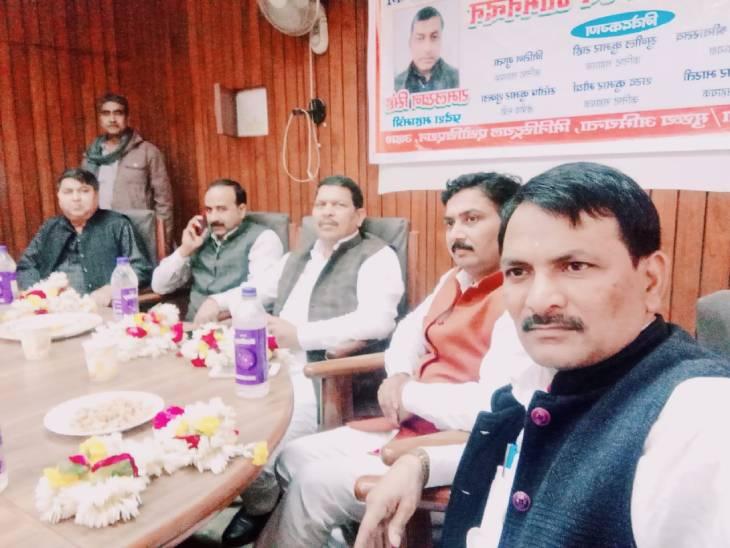 चतुर्थ श्रेणी राज्य कर्मचारियों ने आंदोलन की दी चेतावनी। - Dainik Bhaskar