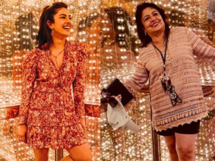 प्रियंका चोपड़ा ने शेयर की क्लीवलैंड में अपनी विजिट की फोटोज, लिखा- धन्यवाद रॉकहॉल मुझे और मेरी फैमिली को इतना शानदार समय देने के लिए बॉलीवुड,Bollywood - Dainik Bhaskar
