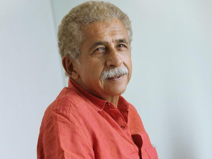 नसीरुद्दीन शाह 2 दिन से अस्पताल में भर्ती, निमोनिया के बाद उनके फेफड़ों में मिला पैच; हालत स्थिर|बॉलीवुड,Bollywood - Dainik Bhaskar