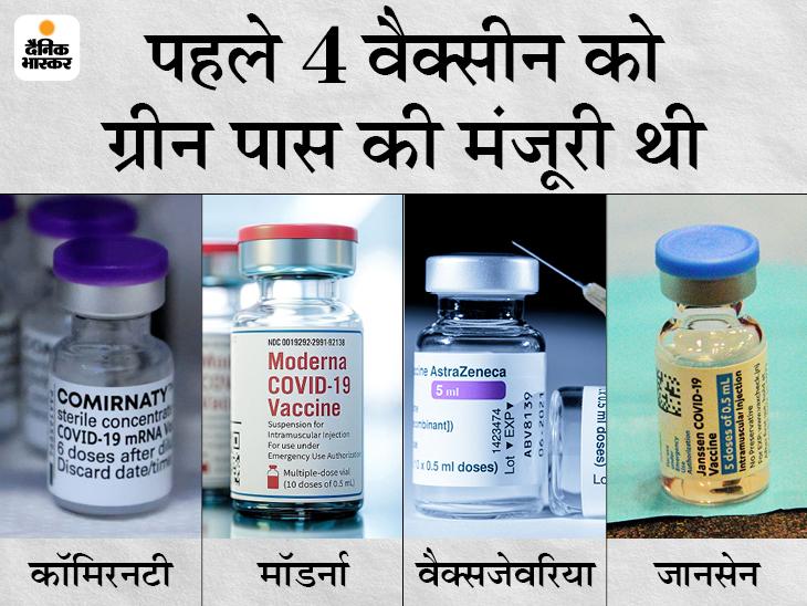 एक दिन पहले भारत ने चेतावनी दी थी- अप्रूव नहीं किया तो हम भी यूरोप का वैक्सीन सर्टिफिकेट नहीं मानेंगे देश,National - Dainik Bhaskar