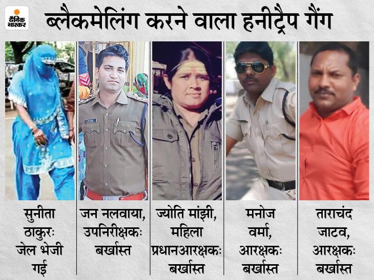 होशंगाबाद कोतवाली का सब इंस्पेक्टर जय नलवाया बर्खास्त, डीआईजी ने की कार्रवाई; तीन पुलिसकर्मी तीन दिन पहले हो चुके बर्खास्त|होशंगाबाद,Hoshangabad - Dainik Bhaskar
