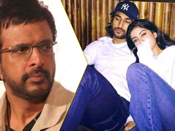 अमिताभ की नातिन नव्या नवेली से रिलेशन की खबरों पर जावेद जाफरी के बेटे मिजान ने तोड़ी चुप्पी, बोले- 'मेरे पिता मुझे घूरकर सवाल करते हैं'|बॉलीवुड,Bollywood - Dainik Bhaskar